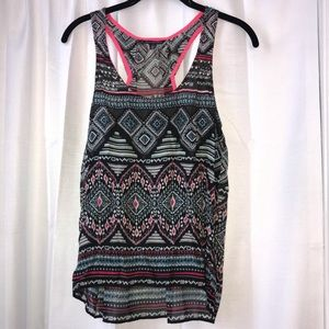 American Eagle Outfitters Tribal Racerback Tank